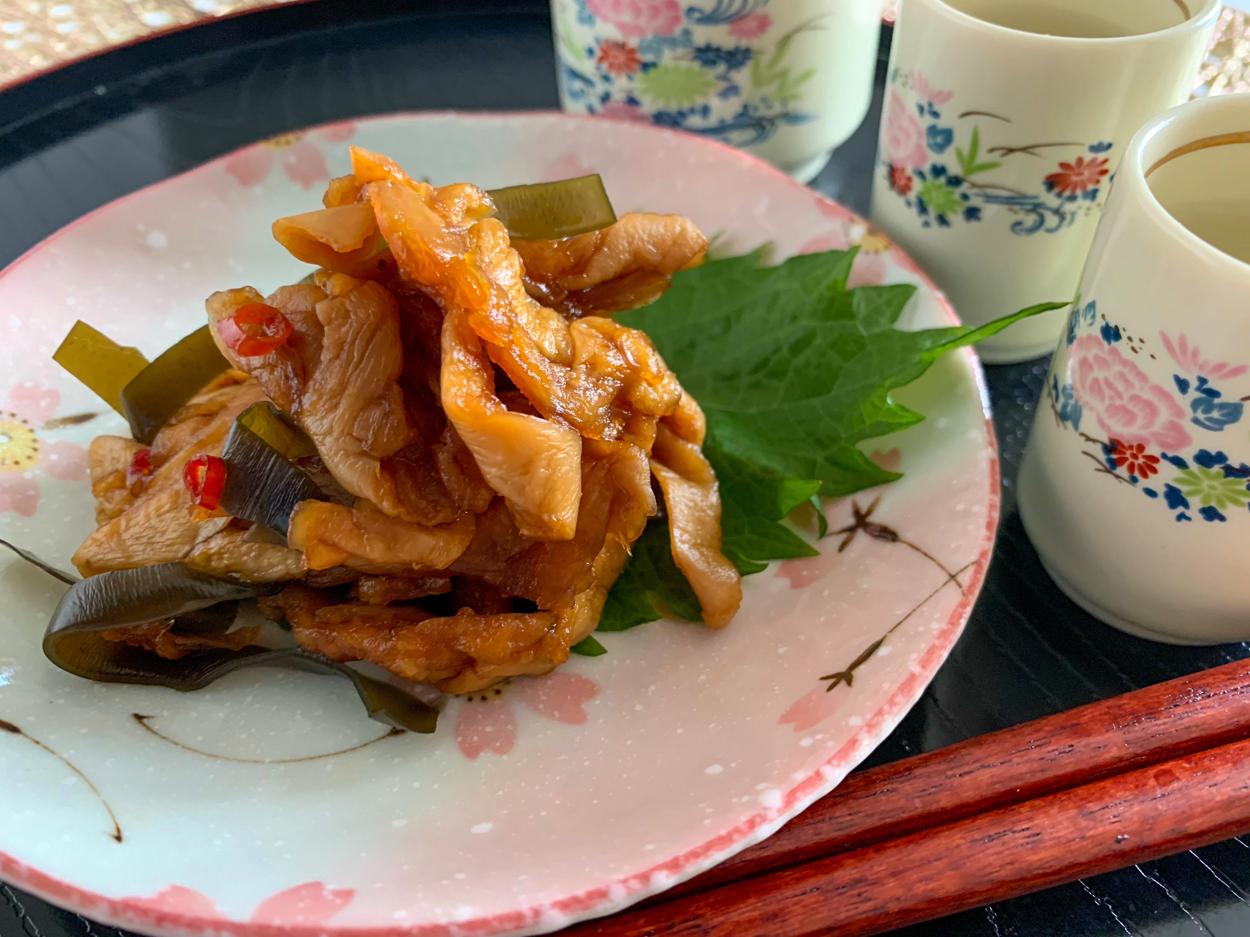 漬物 日本の味 割干大根昆布漬